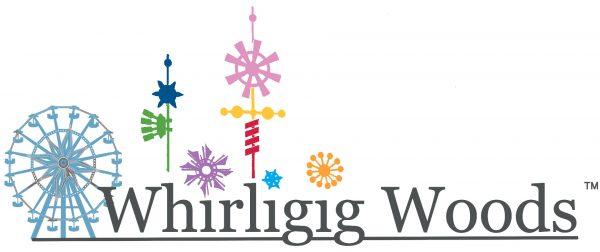 Whirligig Woods Logo